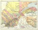 CANADA: Quebec; Inset map of St Lawrence. Britannica 9th edition;1898